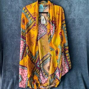 Easel Shawl Cocoon Kimono